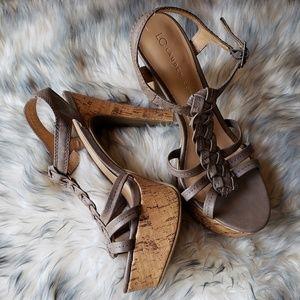 NWOT! LC Lauren Conrad high heel shoes